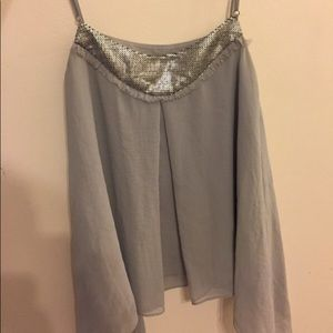 Grey Sparkle Swing Tank